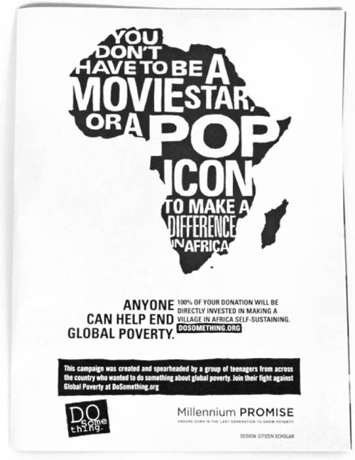 do something for africa