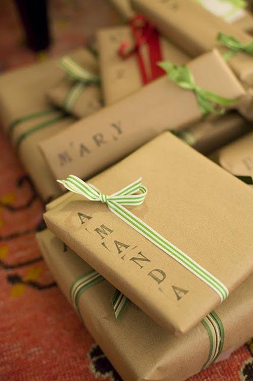 decoracion regalo nombre sellos