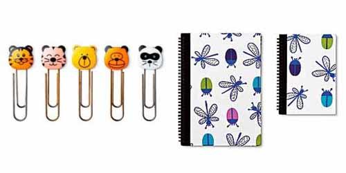 clips cuaderno tiger