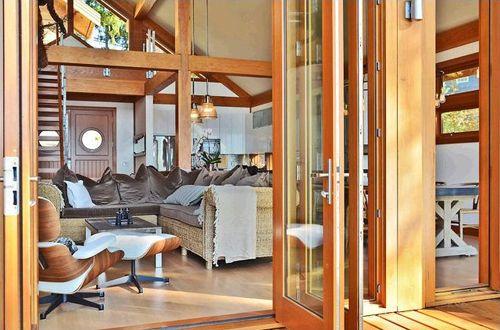 interior fuera casa madera
