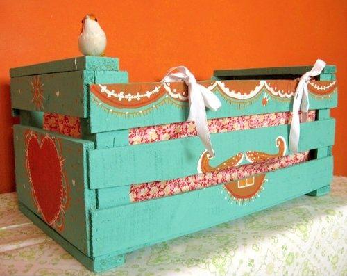 baul turquesa caja fruta taringa.net