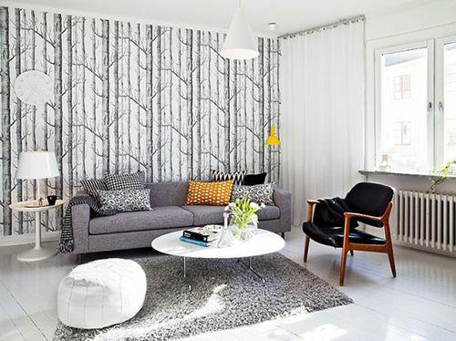 Salón diseño escandinavo.