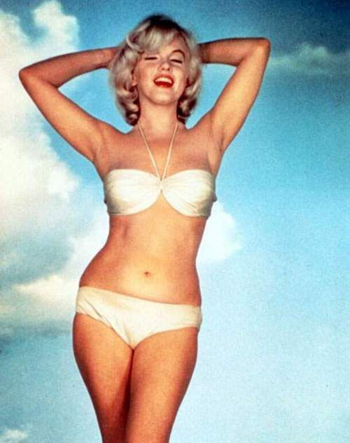 Marilyn Monroe para Eve Arnold.