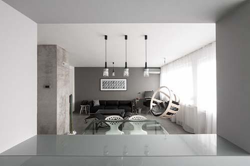Apartamento minimalista basado en la Arhitektura Budjevac