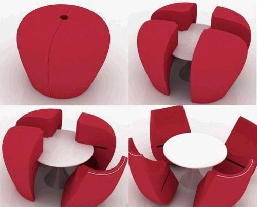 mueble transformable mesa sillas 7amazincreations.com