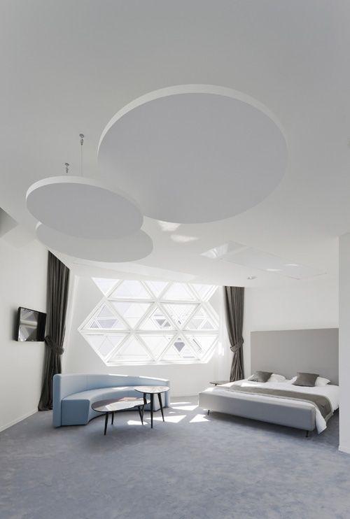 interior habitacion hotel lycee georges freche kawneer