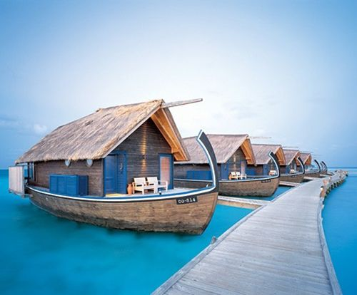 Hotel Cocoa Islands en las Islas Maldivas.