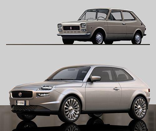 Fiat 127 diseñado por David Obendorfer
