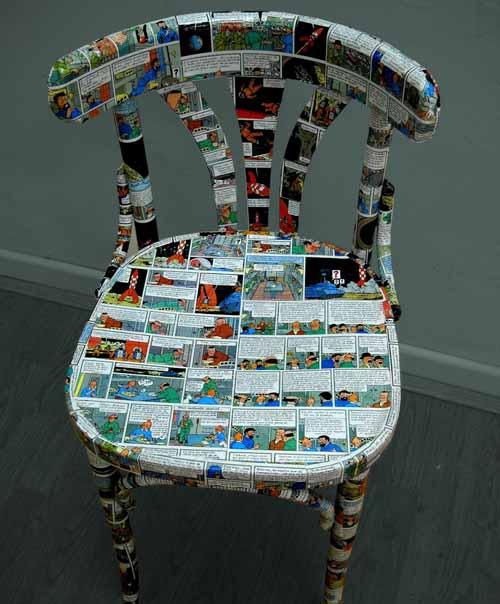 silla comic tienda decoracion delgallo delgallo.es