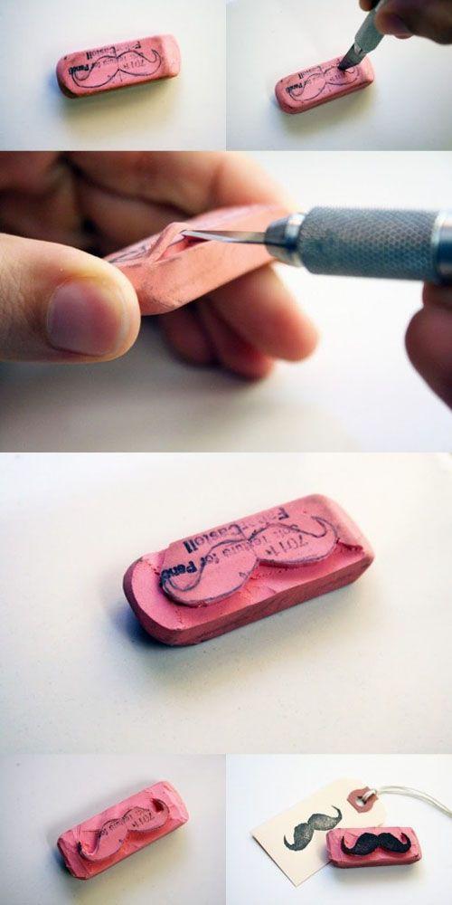 tutorial goma pinterest bambola
