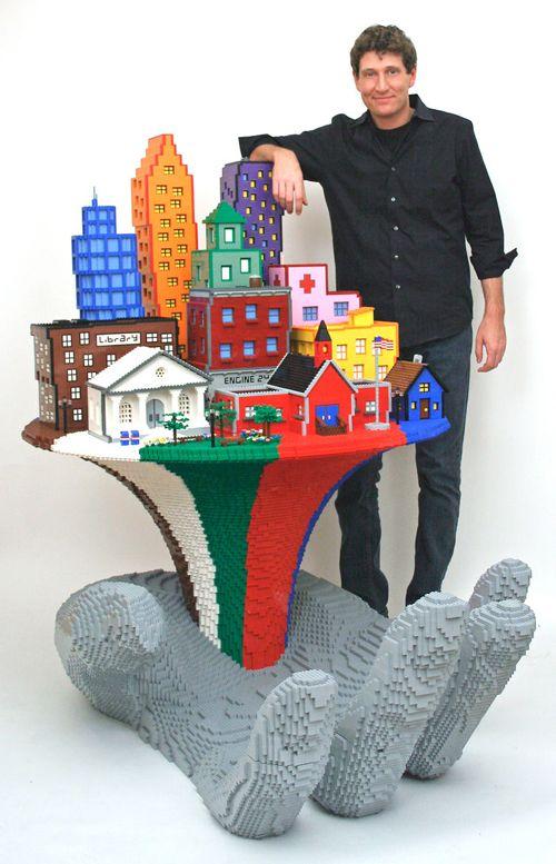 escultura lego nathan sawaya fastcocreate.com