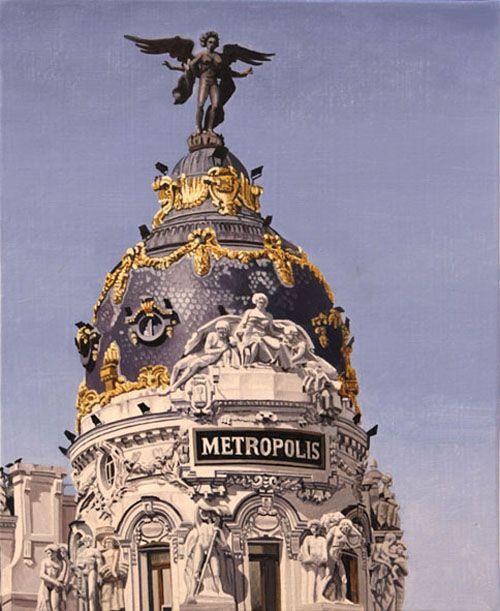 madrid cielo edificio metropolis calle alcala jose miguel palacio