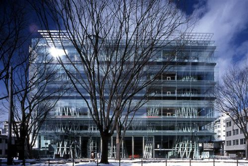 mediateca sendai japon arquitecto toyo iyo