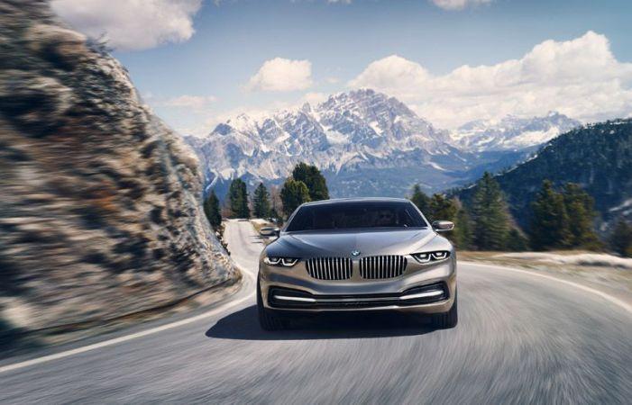 frontal BMW lujo