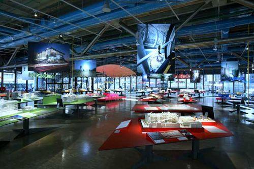 espacio interior exposiciones centro pompidou mediation.centrepompidou.fr