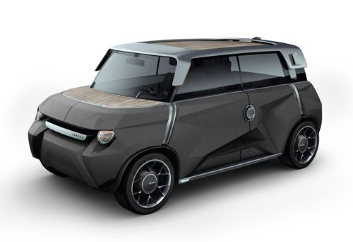 mewe urbano coche toyota reciclable