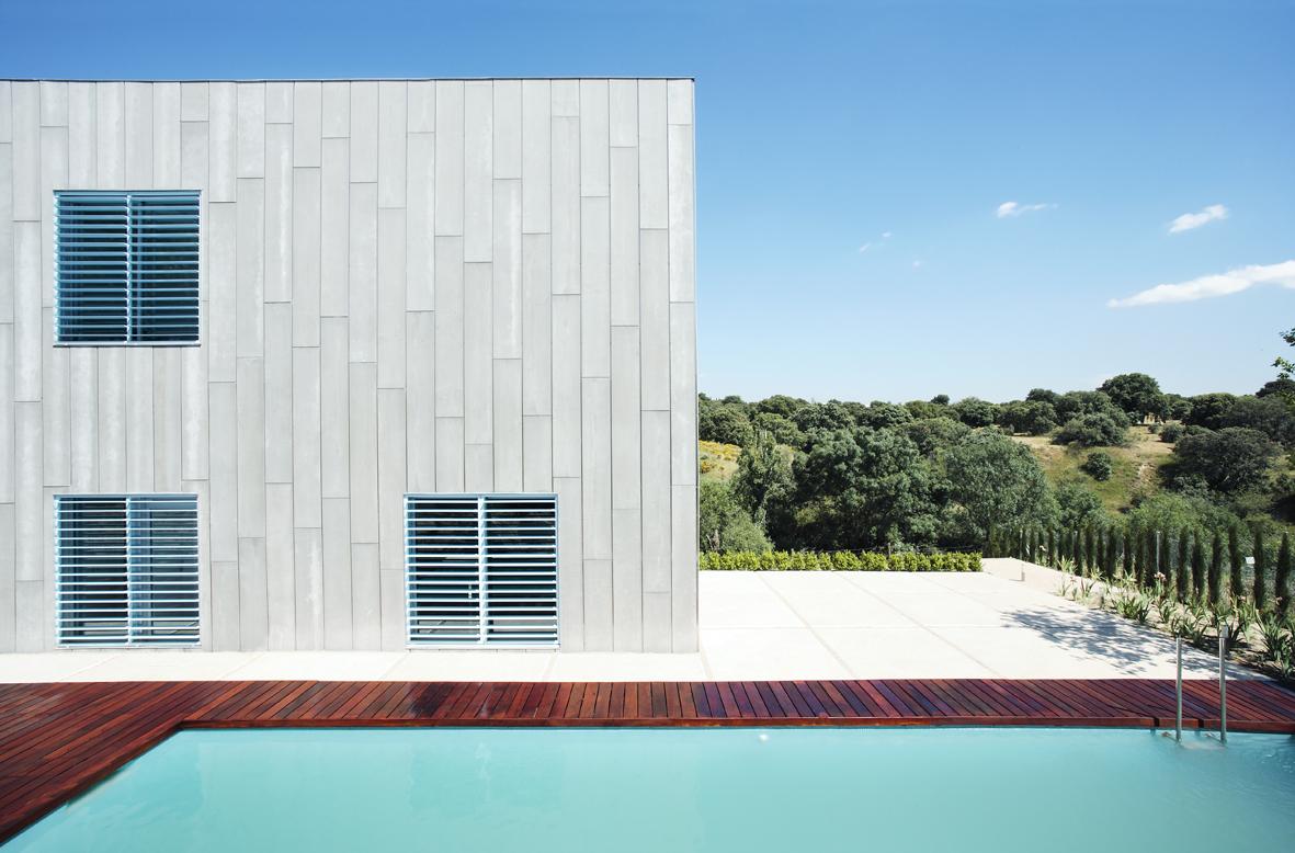 casa sostenible hormigon