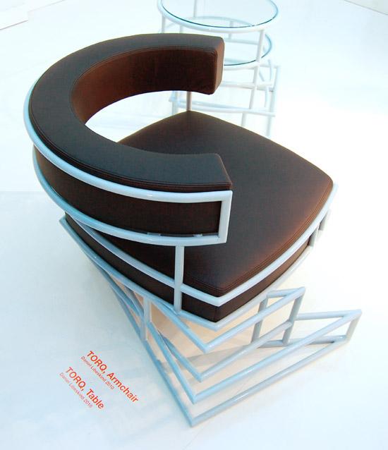 Mobiliario con toques de arquitectura, de Daniel Liebeskind