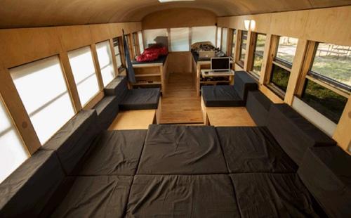 cama casa autobus
