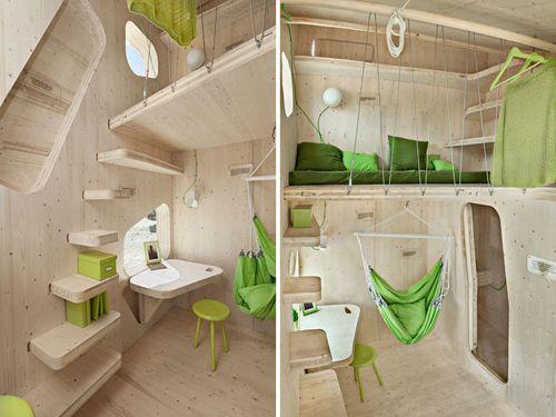 Interior del smart student flat