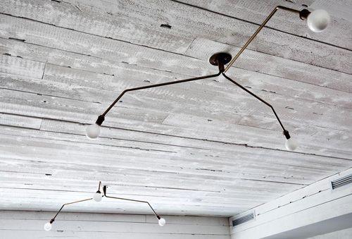 techo hormigon lampara diseño