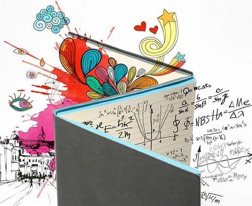 Daycraft Cuaderno para las dos partes del cerebro 07
