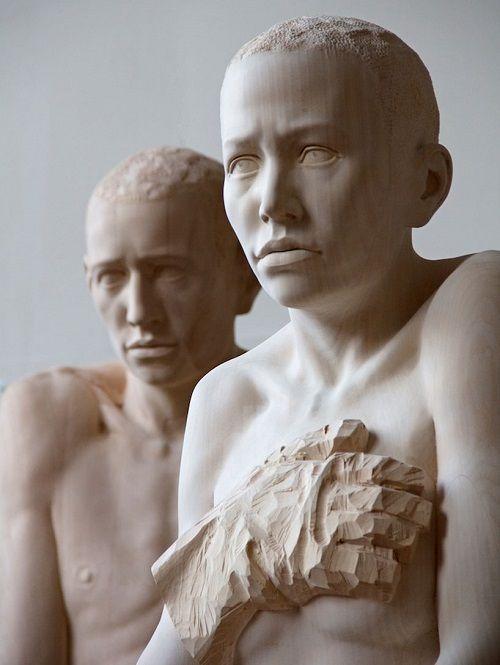 Esculturas de madera por Mario Dilitz 04