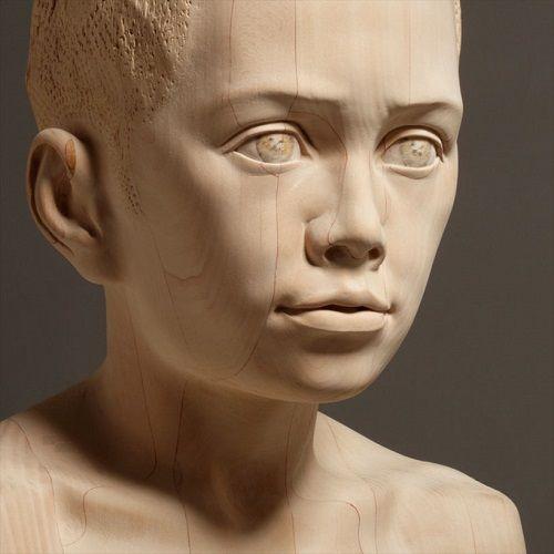 Esculturas de madera por Mario Dilitz 06