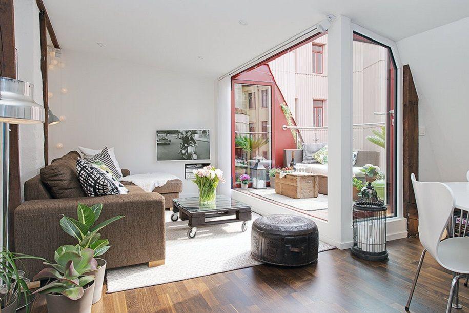 Un piso nórdico en Gotemburgo con mucho encanto