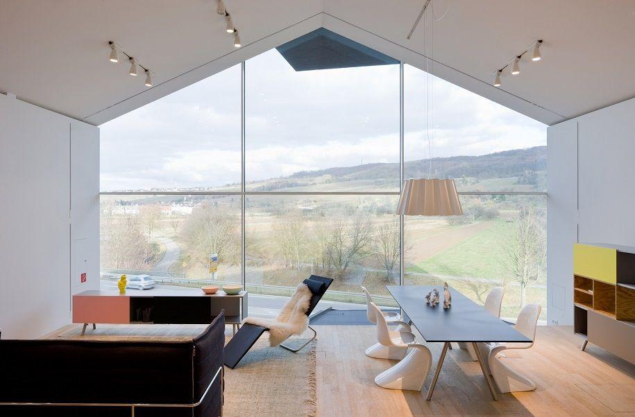 Mobiliario contemporáneo de la firma Vitra