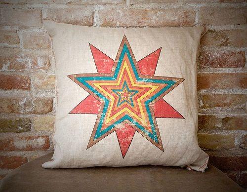 cojin estrella colores