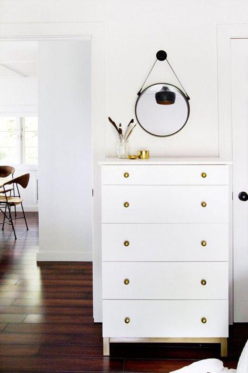 mueble blanco redecorado ikea