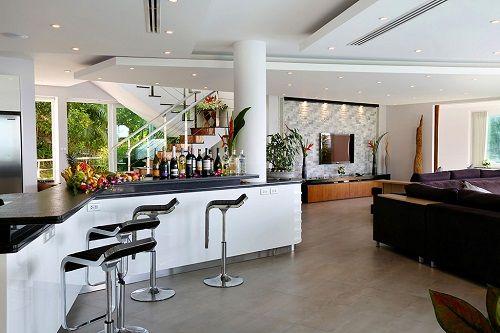 Bar propio en las estancias de Villa Beyond