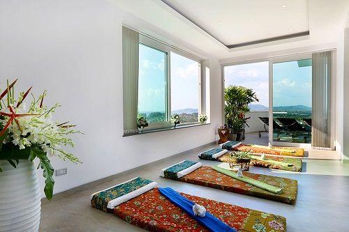 Sala de masajes en Villa Beyond