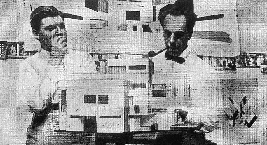 Theo van Doesburg y el Neo-Plasticismo