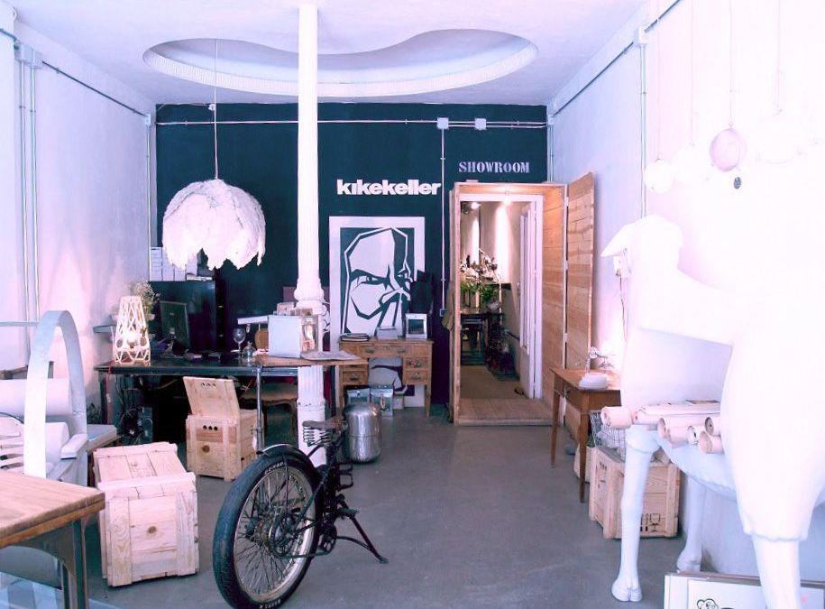 Kike Keller, mobiliario único e innovador