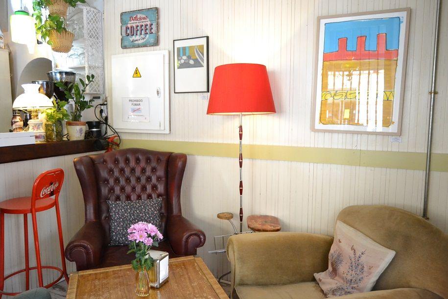 Café de la luz, el salón de Malasaña