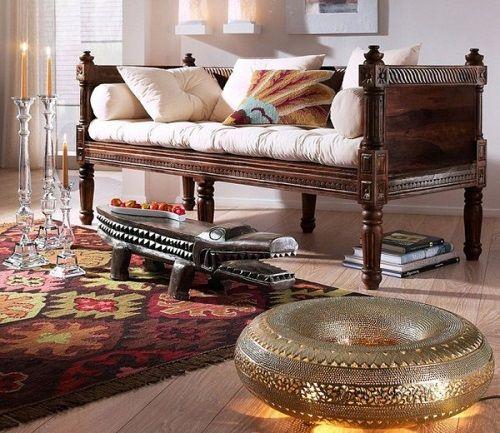 (alfombra estilo) arabe cocodrilo y sofa
