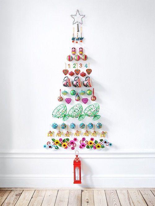 Arboles-de-Navidad-de-pared6 - interiorismo