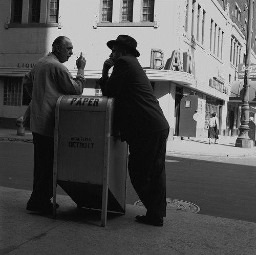 Bill Rauhauser, Detroit street photographer 1