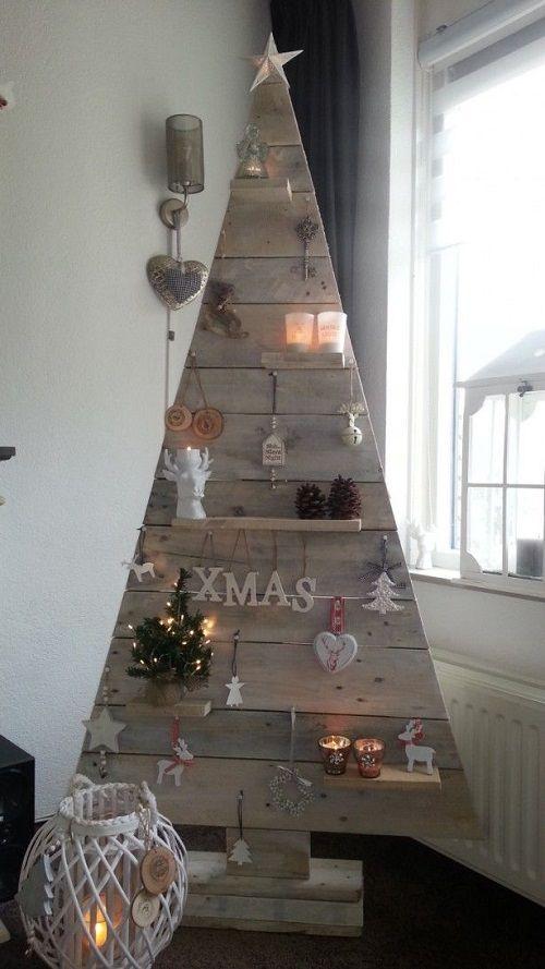 arbol de navidad con palets 56