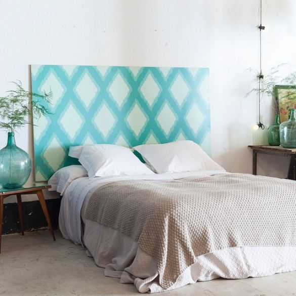 cabceros originales decoracion dormitorios cuadros