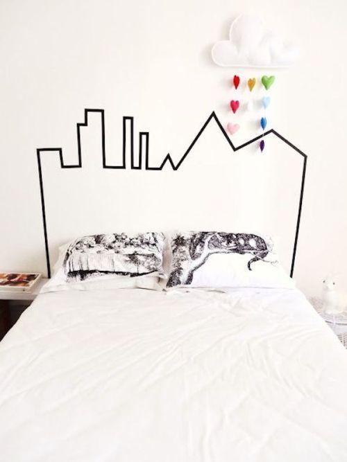 cabeceros originales decoracion dormitorios paredes