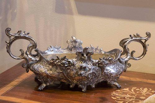 feria almoneda vajilla plata antiguedades