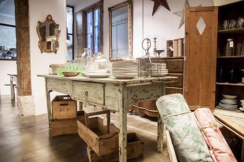 il tavolo verde decoracion antiguedades tienda restauracion anticmarket madrid