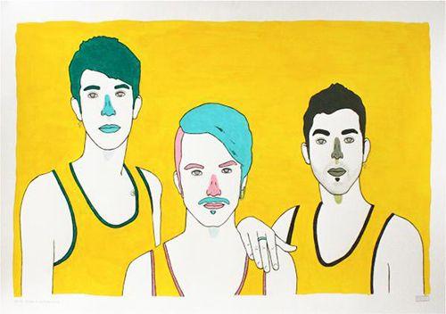 ilustracion artista pau sanz i vila trcolor