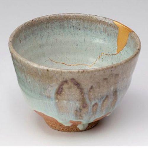 arte japones reparacion con oro