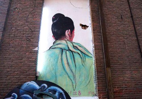 arte callejero exterior neomudejar madrid atocha graffiti
