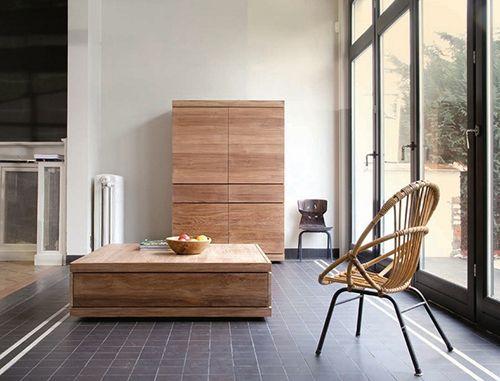 ethnicraft muebles sostenibles madera mazica