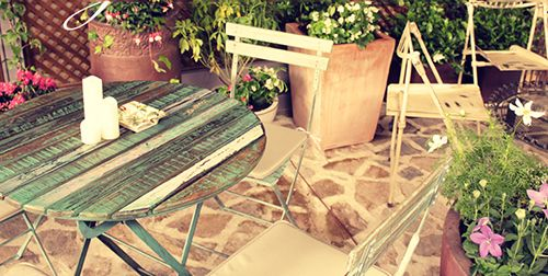 exterior terraza jardin secreto salvador bachiller madrid montera